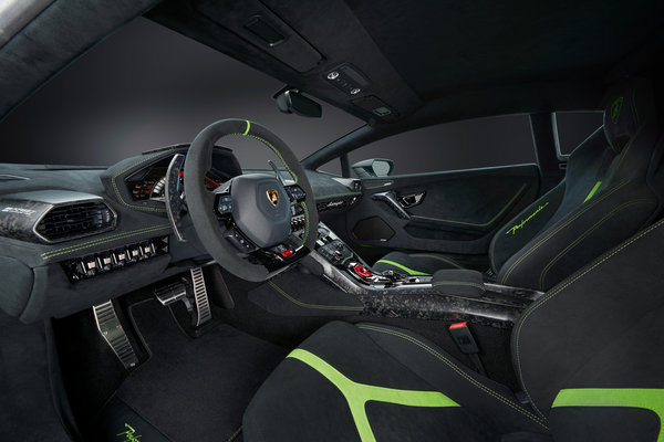 2017 Lamborghini Huracan Performante Interior