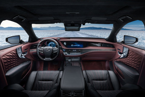 2018 Lexus LS 500h Interior