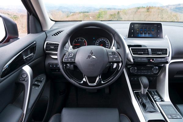 2018 Mitsubishi Eclipse Cross Instrumentation
