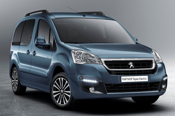 2018 Peugeot Partner Tepee Electric
