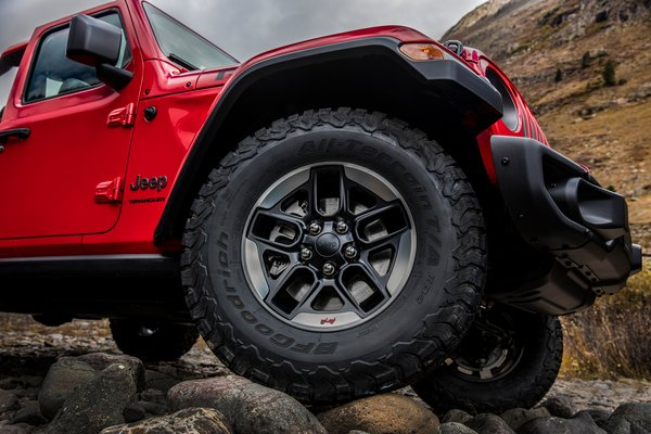2018 Jeep Wrangler Wheel