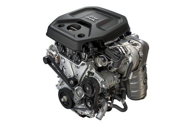 2018 Jeep Wrangler Engine