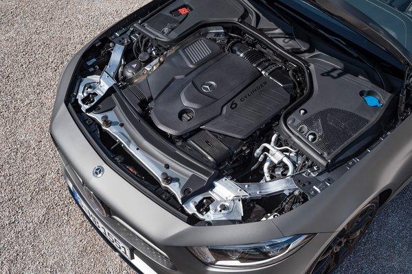 2019 Mercedes-Benz CLS-Class Engine