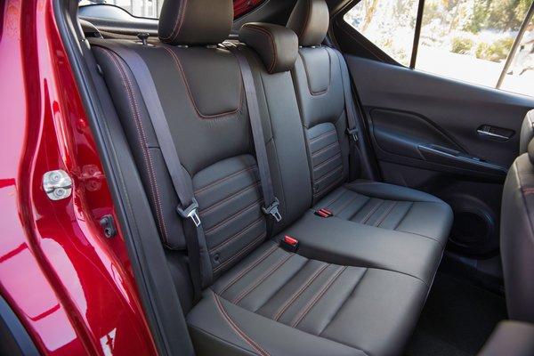 2018 Nissan Kicks Interior