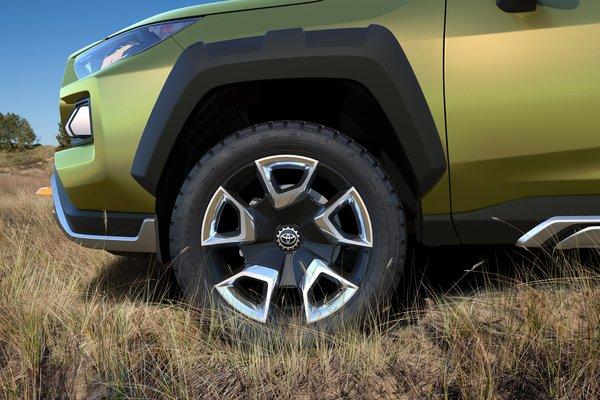 2017 Toyota FT-AC Wheel