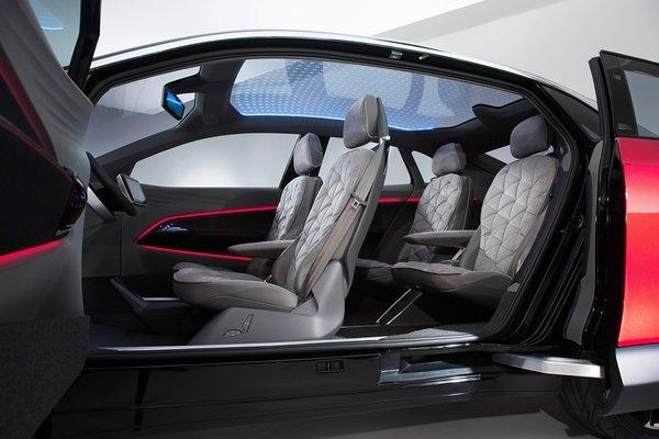 2017 Volkswagen I.D. Crozz Frankfurt Interior