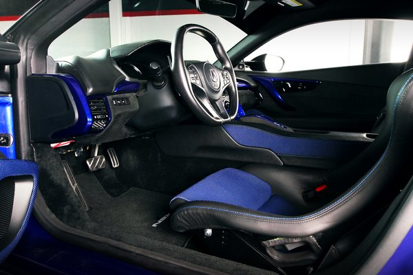 2017 Acura NSX by ScienceofSpeed Interior
