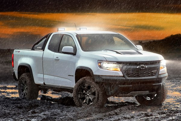 2020 Chevrolet Colorado Extended Cab