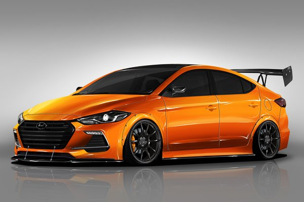 2017 Hyundai Elantra Sport by Blood Type Racing