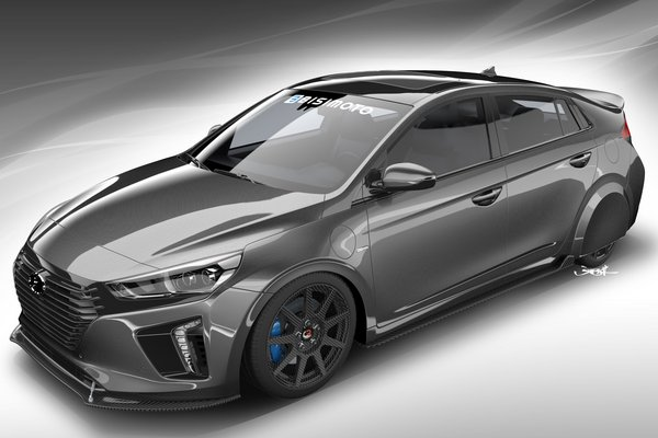 2017 Hyundai HyperEconiq Ioniq by Bisimoto Engineering