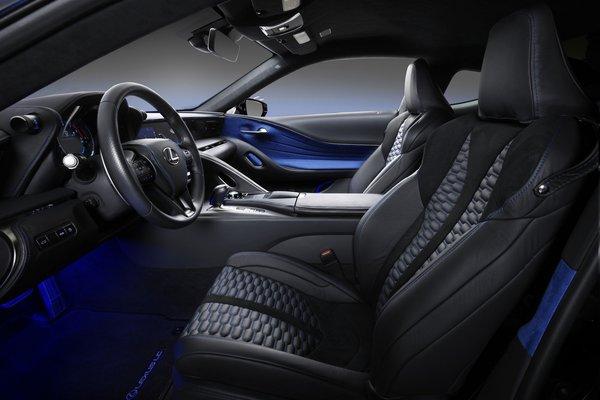 2017 Lexus Black Panther Inspired LC Interior