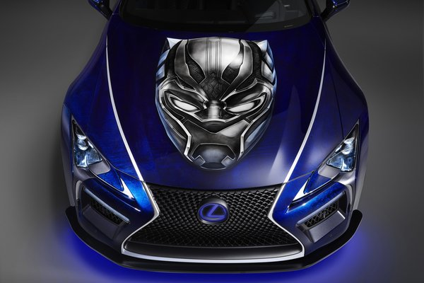 2017 Lexus Black Panther Inspired LC