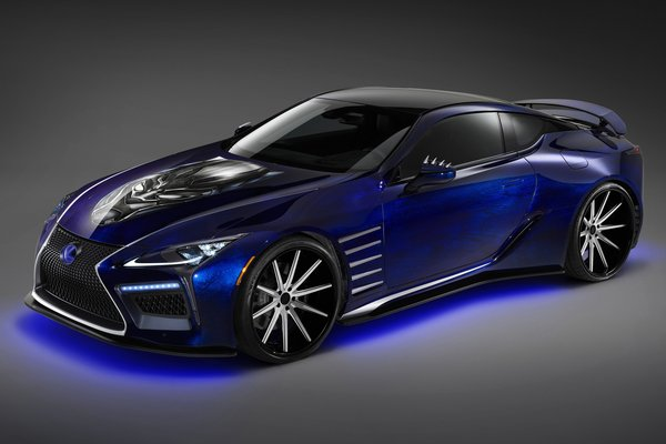 2017 Lexus Black Panther Inspired LC