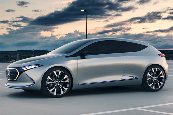 2017 Mercedes-Benz Concept EQA