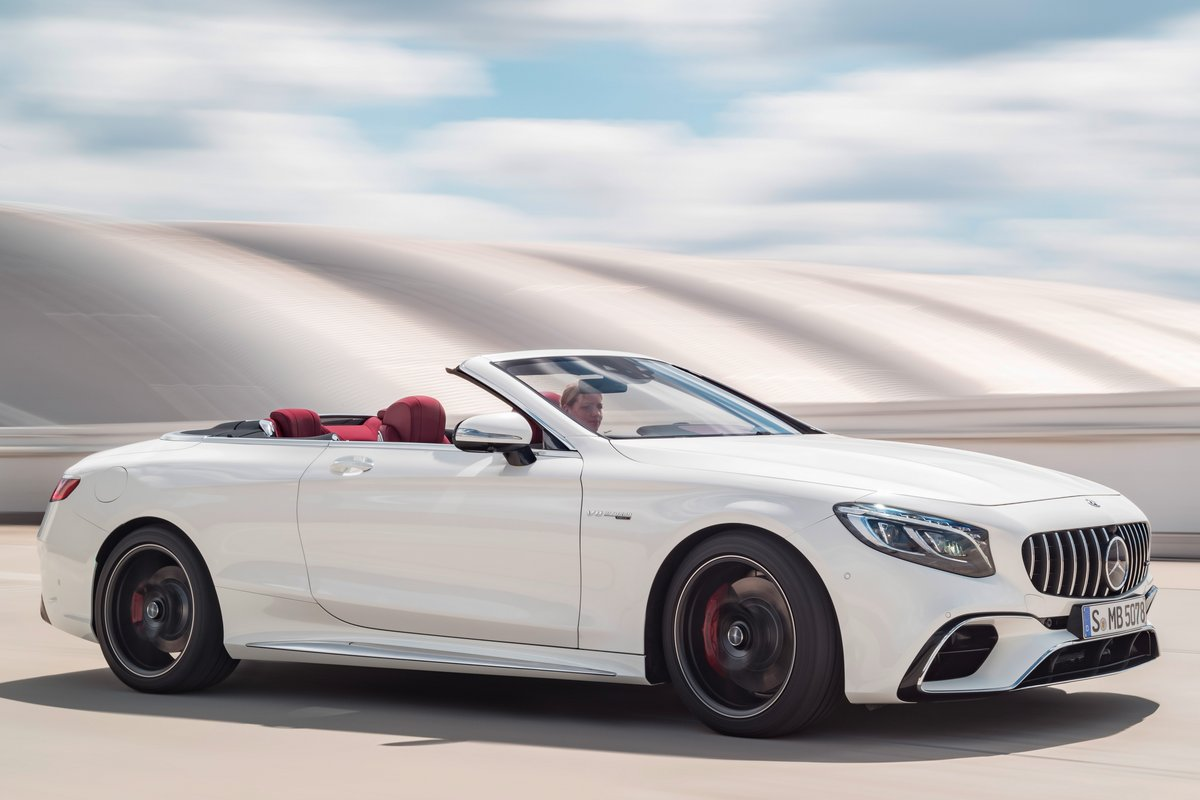 2018 Mercedes-Benz S-Class Cabriolet pictures