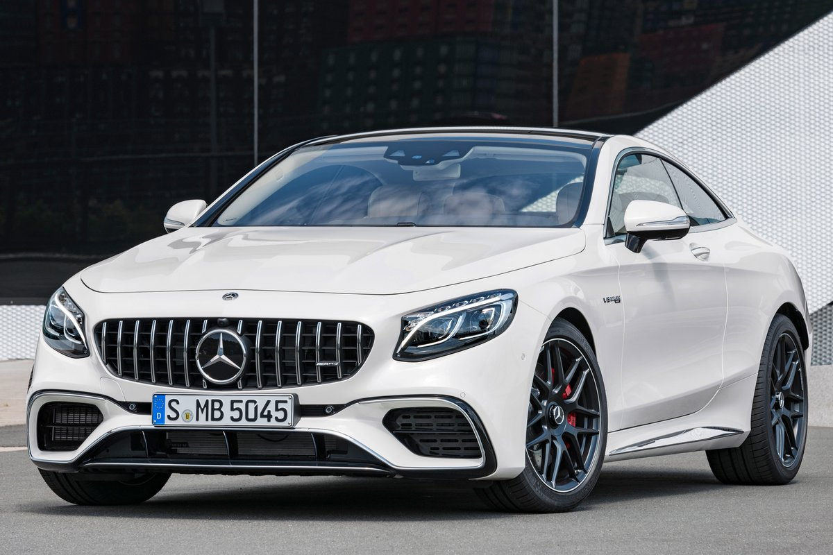 2019 Mercedes Benz S Class Coupe Pictures