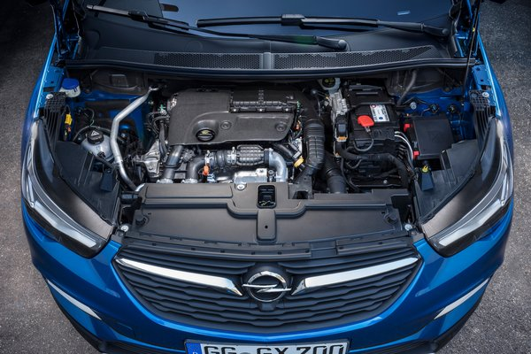 2018 Opel Grandland X Engine
