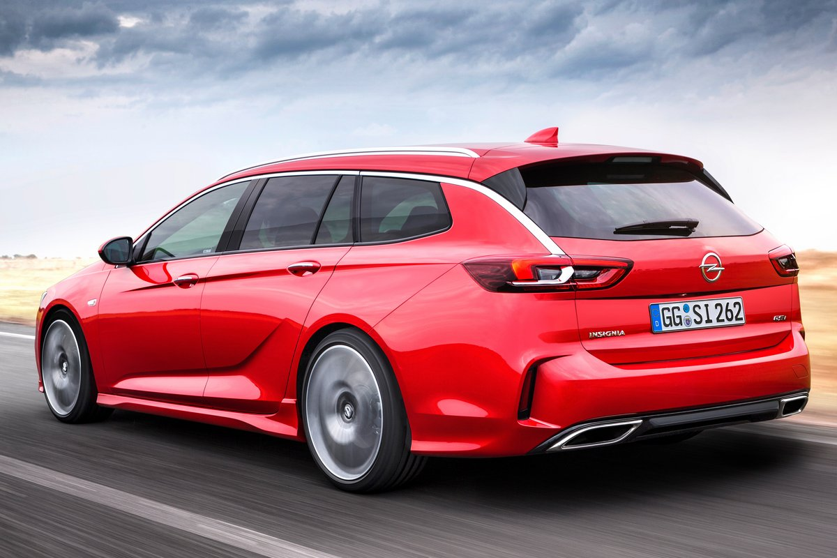 2018 Opel Insignia Sports Tourer Pictures Gsi