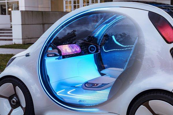 2017 Smart vision EQ Interior