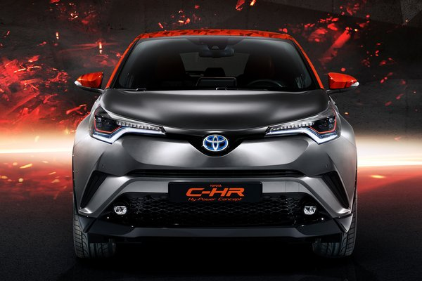 2017 Toyota C-HR HyPower