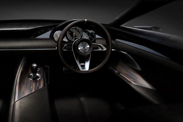2017 Mazda Vision Coupe Interior