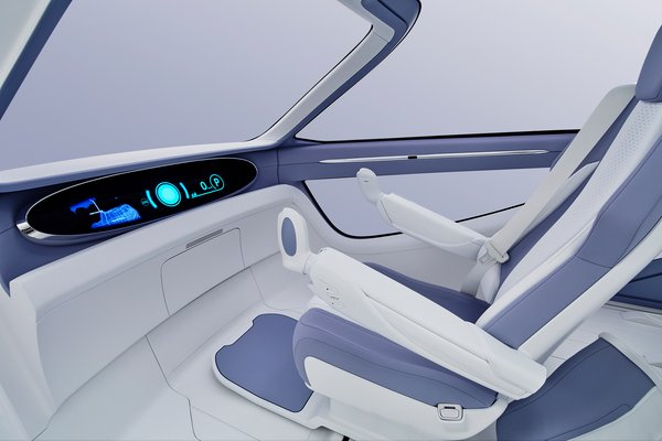 2017 Toyota Concept-i Ride Interior