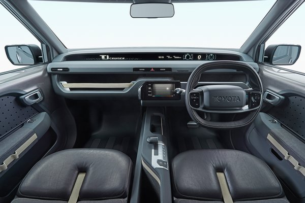 2017 Toyota Tj Cruiser Interior