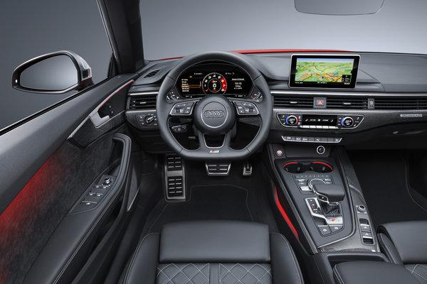 2017 Audi S5 Cabriolet Interior