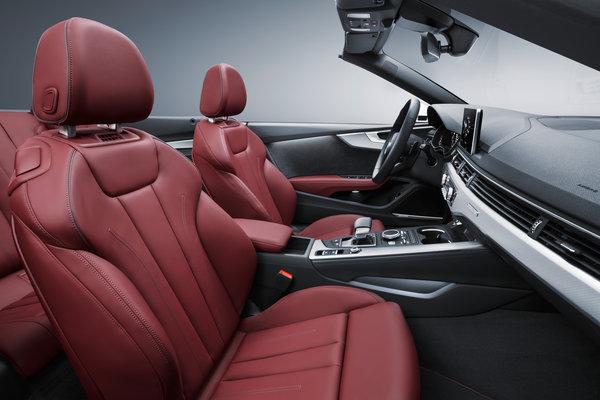 2017 Audi A5 Cabriolet Interior
