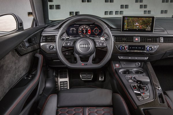 2018 Audi RS 5 coupe Instrumentation