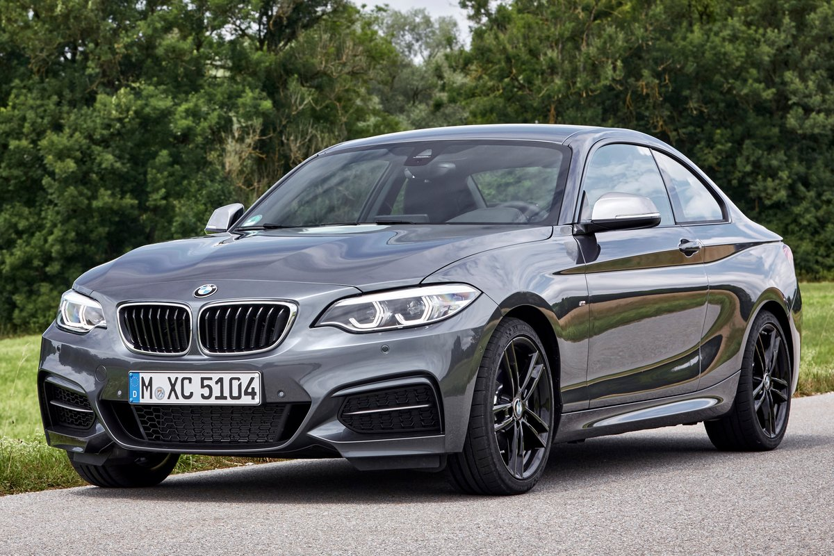 2019 Bmw 2 Series Coupe Pictures