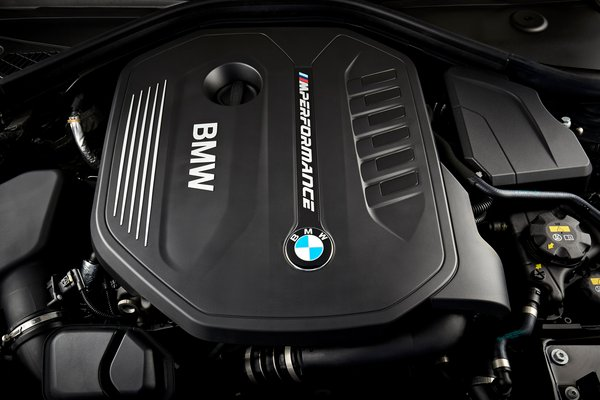2018 BMW 2-Series M240i xDrive Coupe Engine
