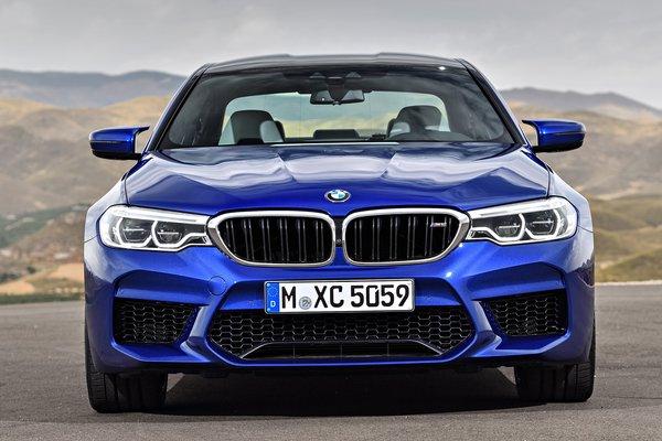 2018 BMW 5-Series M5 sedan
