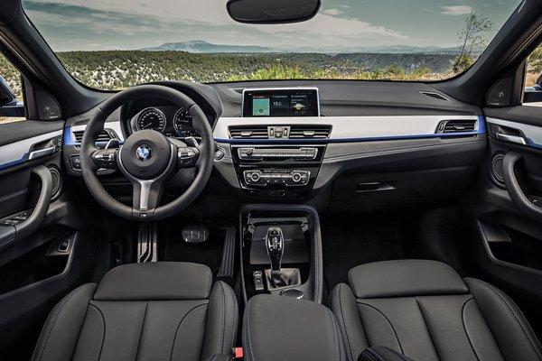 2018 BMW X2 xDrive28i Interior