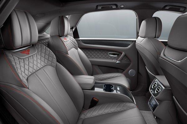 2018 Bentley Bentayga Interior