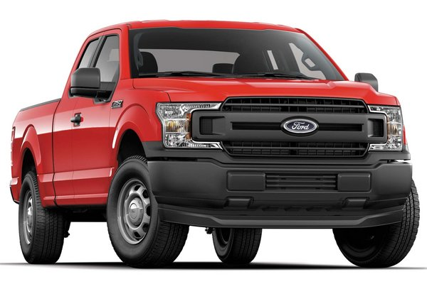 2018 Ford F-150 Extended Cab