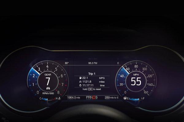 2018 Ford Mustang Instrumentation