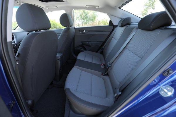 2018 Hyundai Accent Interior