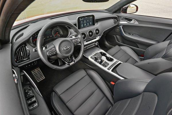 2018 Kia Stinger GT2 RWD Interior