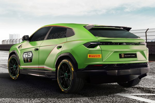 2018 Lamborghini Urus ST-X