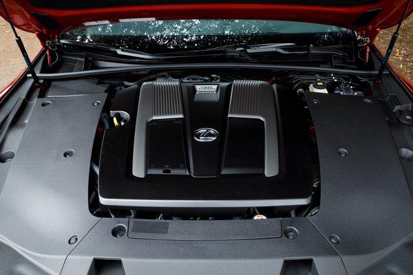 2018 Lexus LS500 F-Sport Engine