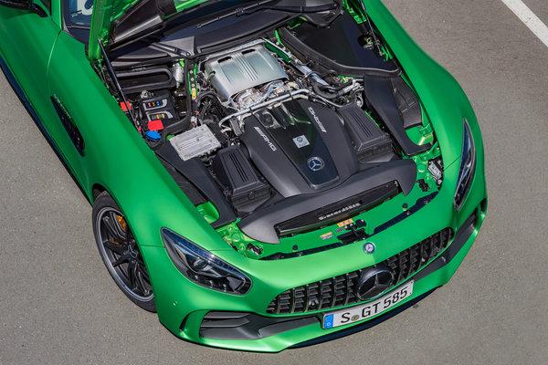 2018 Mercedes-Benz AMG GT R Engine