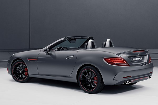 2018 Mercedes-Benz SLC-class SLC43 Performance Studio RedArt