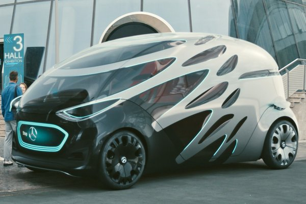 2018 Mercedes-Benz Vision URBANETIC