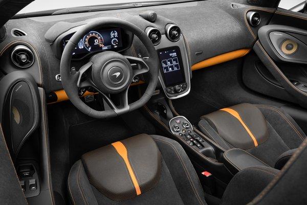 2018 McLaren 570S Spider Interior