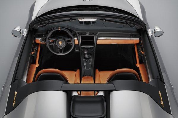 2018 Porsche 911 Speedster Concept Interior