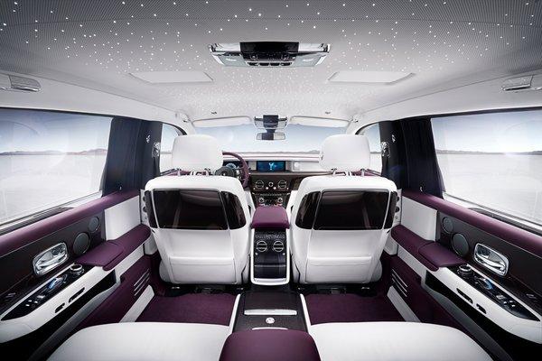 2018 Rolls-Royce Phantom EWB Interior