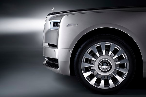2018 Rolls-Royce Phantom Wheel