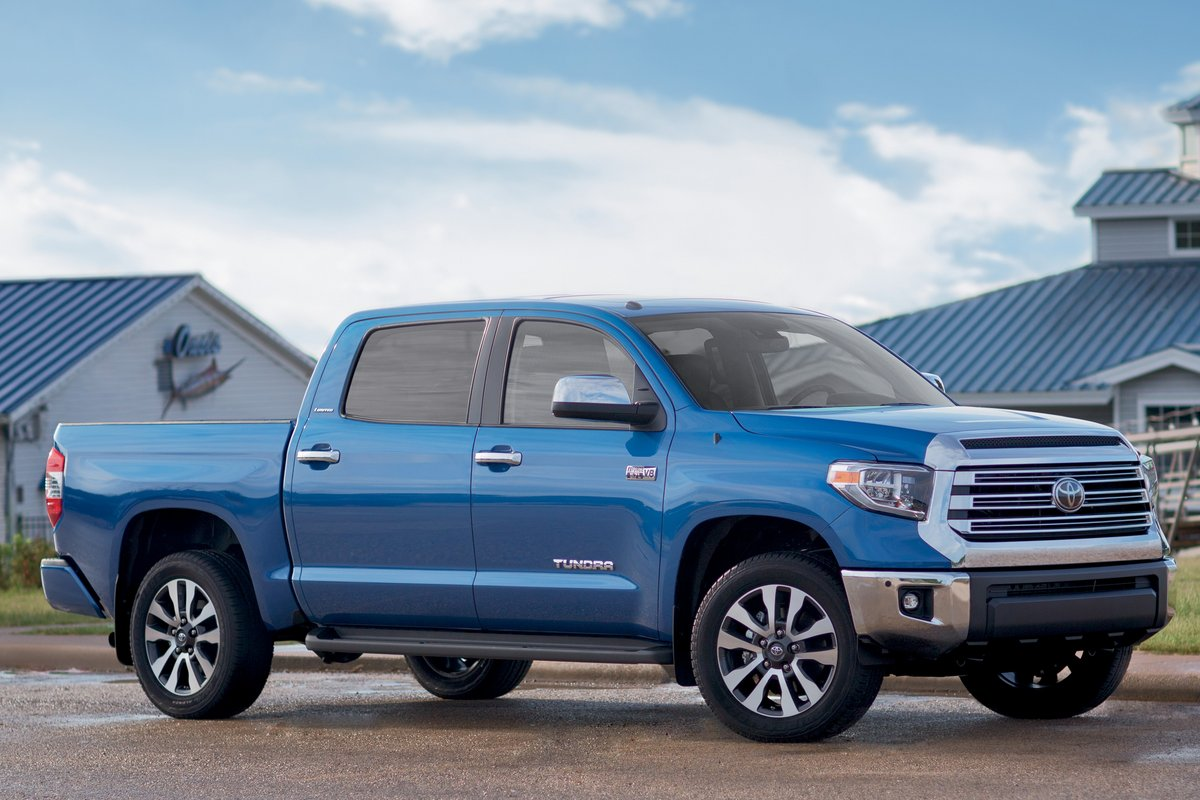 Toyota Official Site >> 2018 Toyota Tundra Crew Cab pictures
