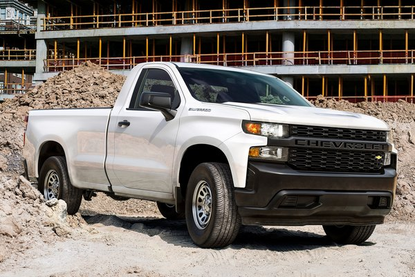 2020 Chevrolet Silverado 1500 Regular Cab